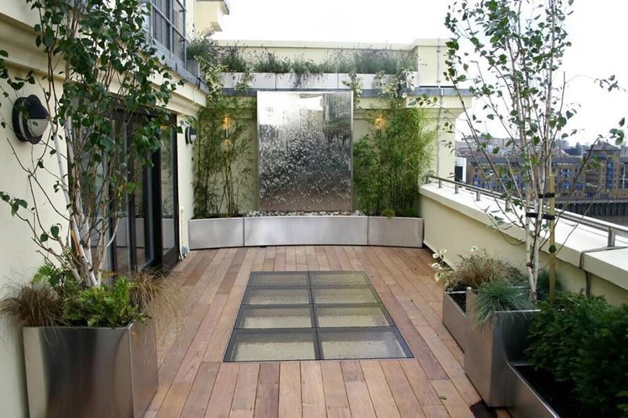 Flat Roof Decoration